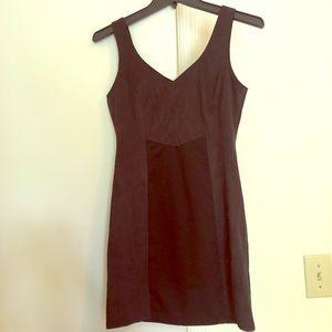 Insight black mini dress